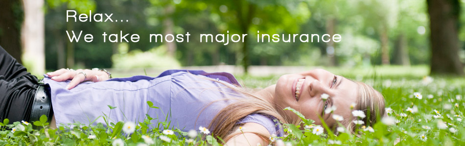 we accept many insurance companies